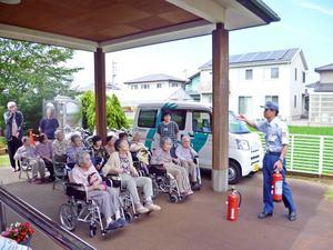 2017年7月6日 島尾の家 消防訓練