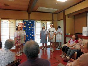 2017年7月3日~7日 島尾の家 14歳の挑戦