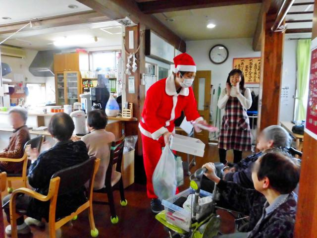 クリスマス会㏌島尾の家
