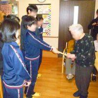 宮田小学校からの寄付